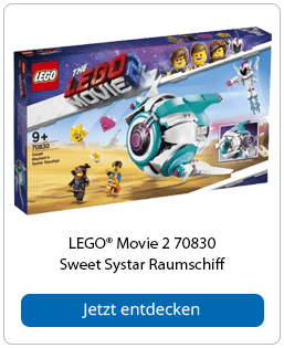 LEGO® Movie 2 70830 Sweet Systar Raumschiff