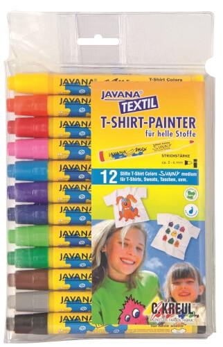 Javana TEXTIL Stoffmalstift 12er Set