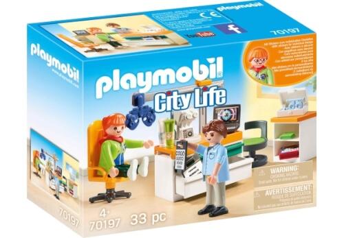 Playmobil 70197 Beim Facharzt: Augenarzt