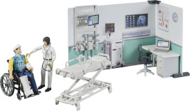 Bruder 62711 bworld Krankenstation