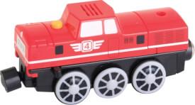 SpielMaus Holz Elektro Rangierlokomotive