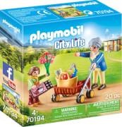 Playmobil 70194 Oma mit Rollator