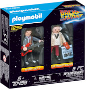 PLAYMOBIL 70459 Back to the Future Marty Mcfly und Dr. Emmett Brown