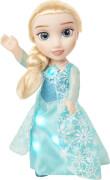 FROZEN Die Eiskönigin Bridge- Puppe Glitzerschnee, Elsa, ca. 35 cm