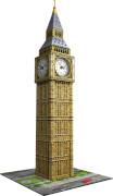 Ravensburger 125869 Puzzle 3D Big Ben mit Uhr 216 Teile