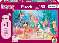 Schmidt Spiele Puzzle Schleich bayala® Das Schloss von Meamare, 150 Teile