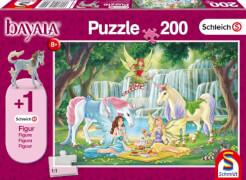 Schmidt Spiele Puzzle Schleich bayala® Picknick der Elfen, 200 Teile