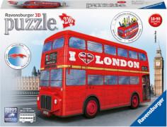 Ravensburger 125340 Puzzle 3D London Bus 216 Teile