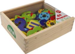 LENA magnetische Holz-Zahlen