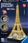 Ravensburger 12579 Puzzle 3D Eiffelturm Night Edition 216 Teile