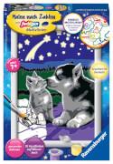 Ravensburger 278473 Malen nach Zahlen: Hund und Katze, Malset