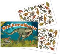 Stickeralbum Dinosaurier