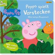 Panini Verlags GmbH, Peppa Pig - Peppa spielt verstecken, Klappenbuch