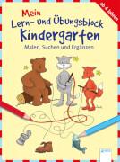 Arena - Malen, Suchen und Ergänzen: Mein Lern- und Übungsblock für den Kindergarten. Taschenbuch, 80 Seiten, ab 4-6 Jahren. Schä