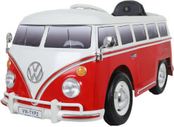 VW BUS Type 1 (T2) , 6V, RC, rot