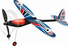 Gummimotor-Flugmodell