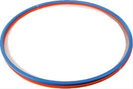 Gymnastik-Reifen, Kunststoff, Ø ca. 70 cm, sortiert