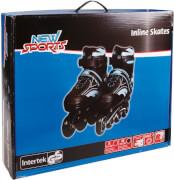 New Sports Inliner Blau, ABEC 7, Größe 35 - 38