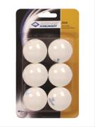 Tischtennis 6er Jade Ball, weiß ca. 40 mm
