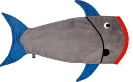 Die Spiegelburg 14808 Capt'n Sharky - Spiel-Schlafsack, ca. 48x125 cm, 3 bis 8 Jahre