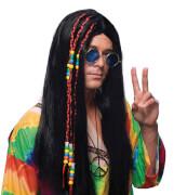Hippie schwarz Unisex