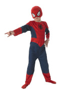 Kostüm Spiderman 3tlg Flat Child Gr.S