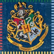 Harry Potter Servietten 33x33 cm 16 Stück