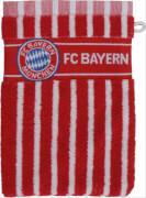 FC Bayern Waschhandschuh rot/weiß