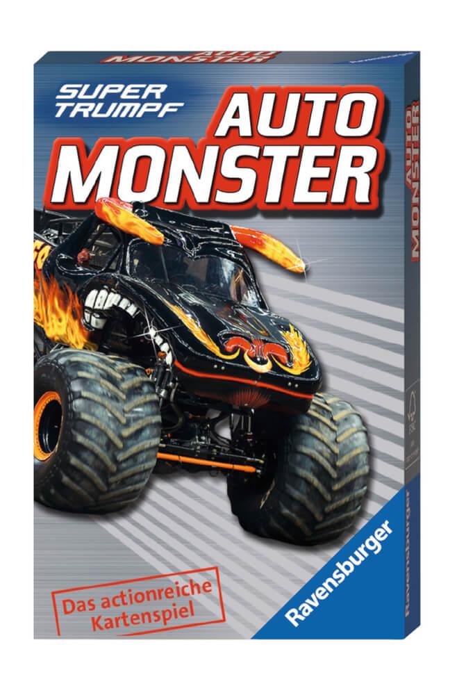 Ravensburger 203048 Quartett Auto Monster Perlen