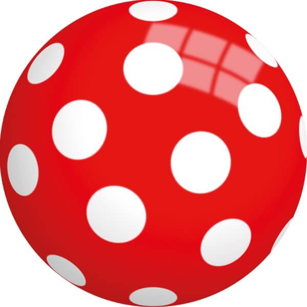 BALL MIT MOTIV PEPPA PIG BUNTBALL SPIELBALL 23 CM NEU Bälle